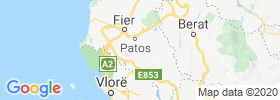 Patos Fshat map
