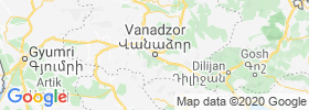 Vanadzor map