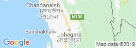 Satkania map
