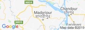 Madaripur map