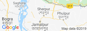 Sherpur map