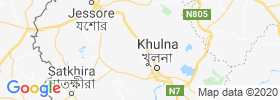 Phultala map