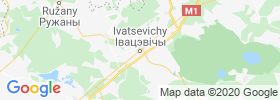 Ivatsevichy map