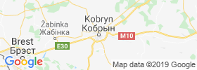 Kobryn map