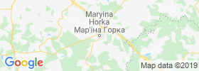 Mar''ina Horka map