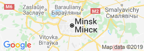 Minsk map