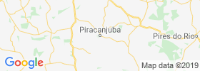 Piracanjuba map