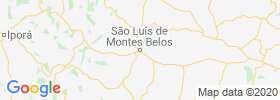 Sao Luis De Montes Belos map