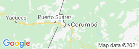 Corumba map