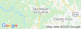 Sao Miguel Do Guama map