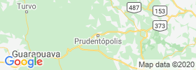 Prudentopolis map