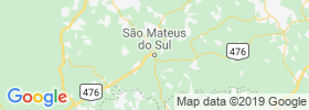 Sao Mateus Do Sul map