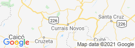 Currais Novos map