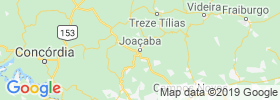 Joacaba map