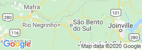 Sao Bento Do Sul map