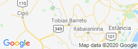 Tobias Barreto map