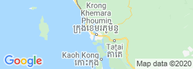 Koh Kong map