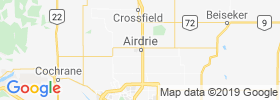 Airdrie map