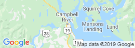 Campbell River map