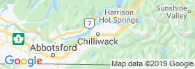Chilliwack map