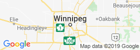 Winnipeg map