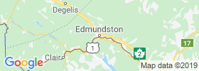 Edmundston map