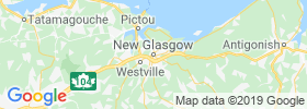 New Glasgow map