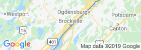 Brockville map