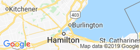 Burlington map