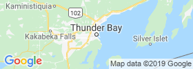 Thunder Bay map