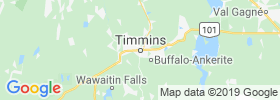 Timmins map