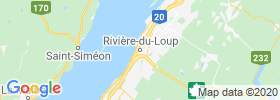 Riviere Du Loup map