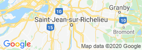 Saint Jean Sur Richelieu map