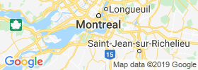 Sainte Catherine map