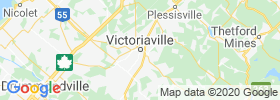 Victoriaville map