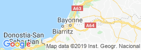Bayonne map