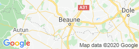 Beaune map