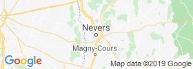 Nevers map
