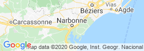 Narbonne map
