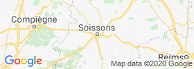 Soissons map