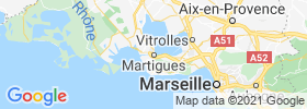 Martigues map