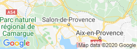 Salon De Provence map
