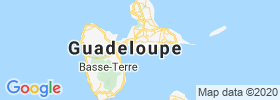 Le Gosier map
