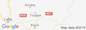 Tougue map