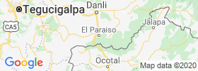 El Paraiso map