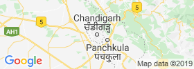 Chandigarh map