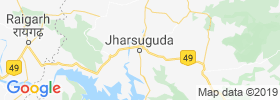 Jharsuguda map