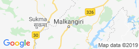 Malakanagiri map