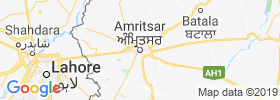Amritsar map