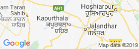 Kapurthala map